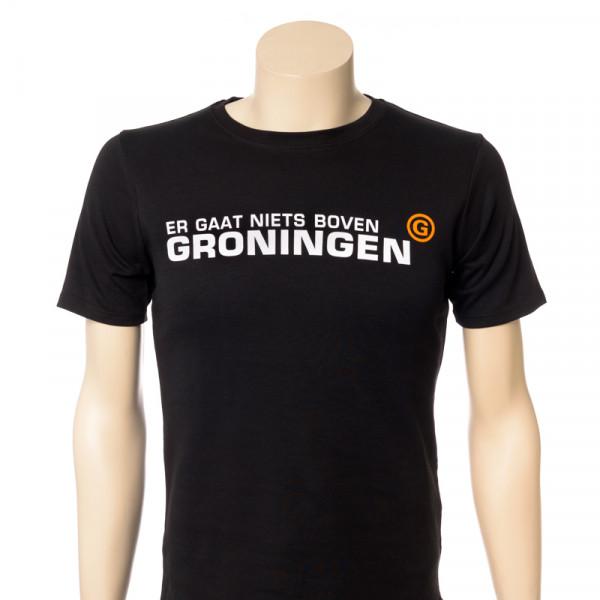 """T-shirt """"Er gaat niets boven Groningen"""" Heren"""