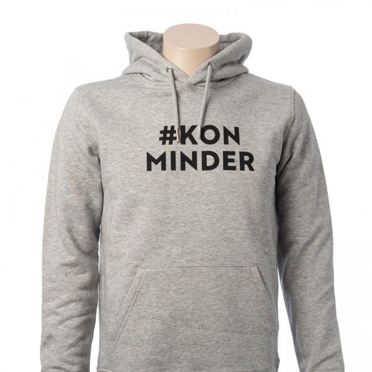 Hooded sweater #Kon Minder