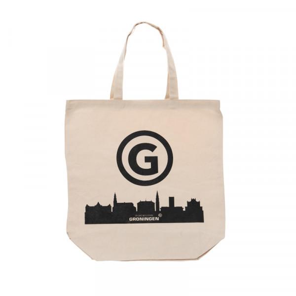 """Linnen tas """"Er gaat niets boven Groningen"""""""