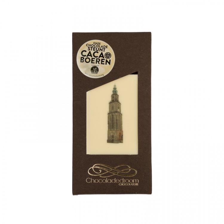 Chocoladedroom chocolade tablet met Martinitoren