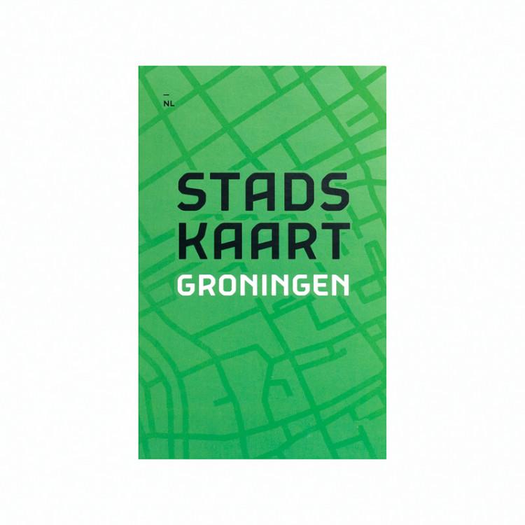 Stadskaart Groningen (NL, DE, EN)
