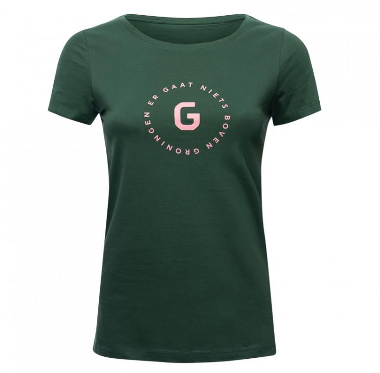 "T-shirt ""Er Gaat Niets Boven Groningen"" dames"