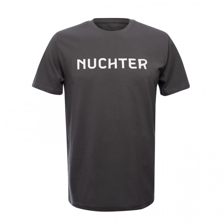 """T-shirt """"Nuchter"""" heren"""