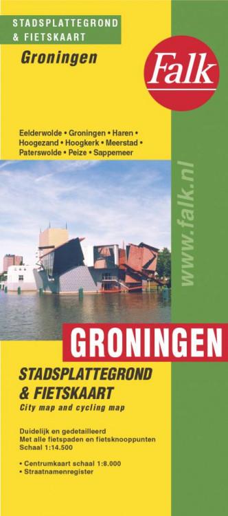 Falk Plattegrond Groningen