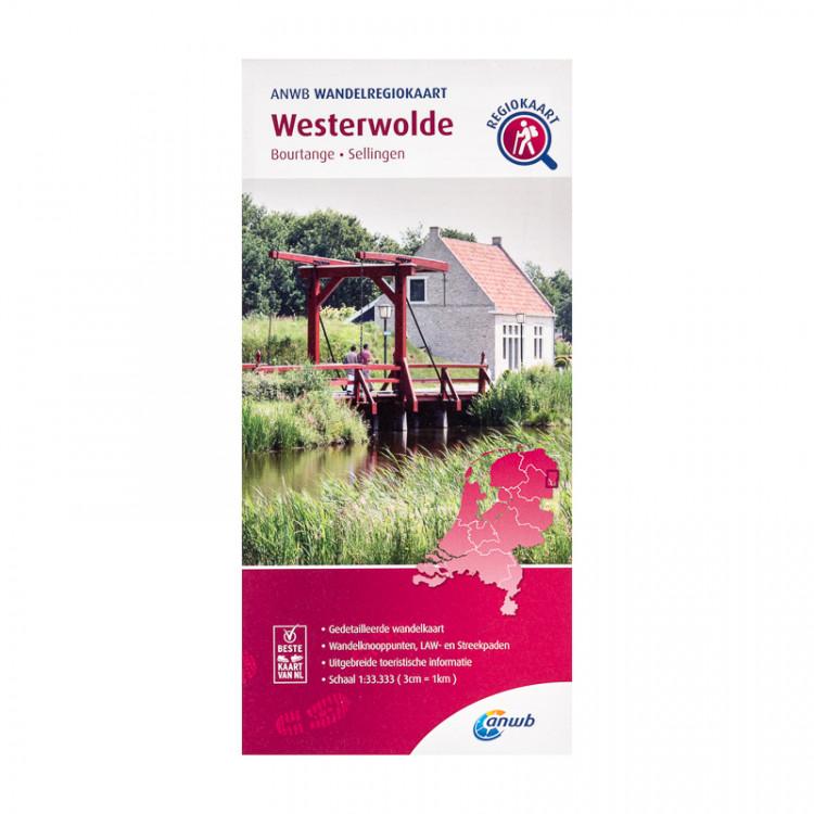 """ANWB wandelregiokaart """"Westerwolde"""""""