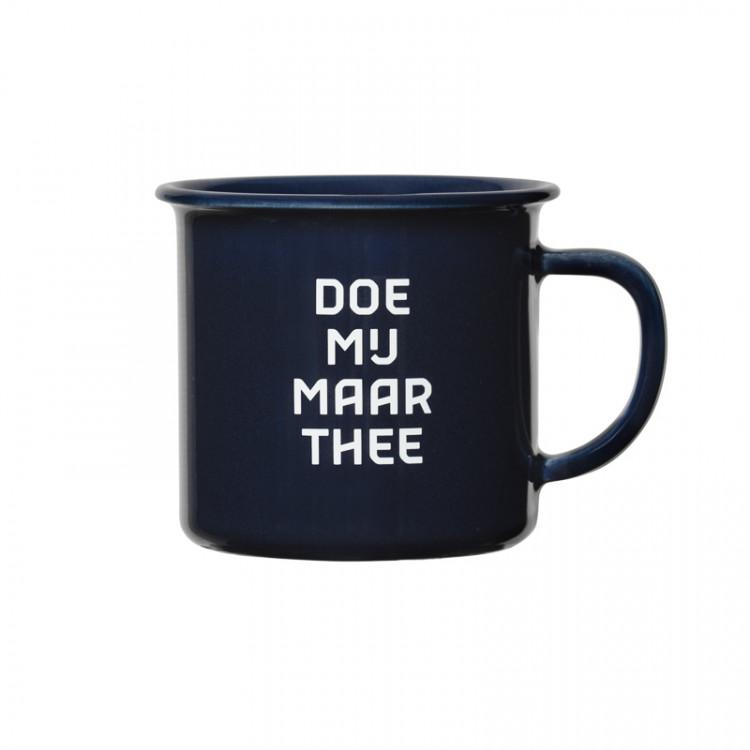 """Mok """"doe mij maar thee"""""""