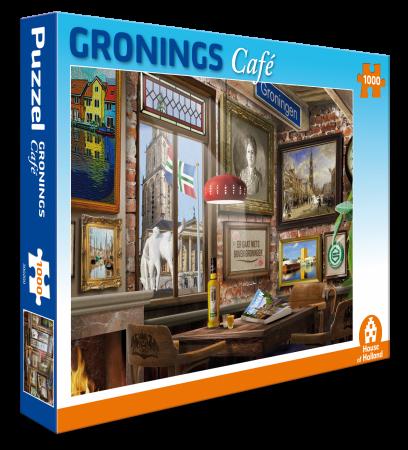 Puzzel Gronings Café ( 1000 stukjes)