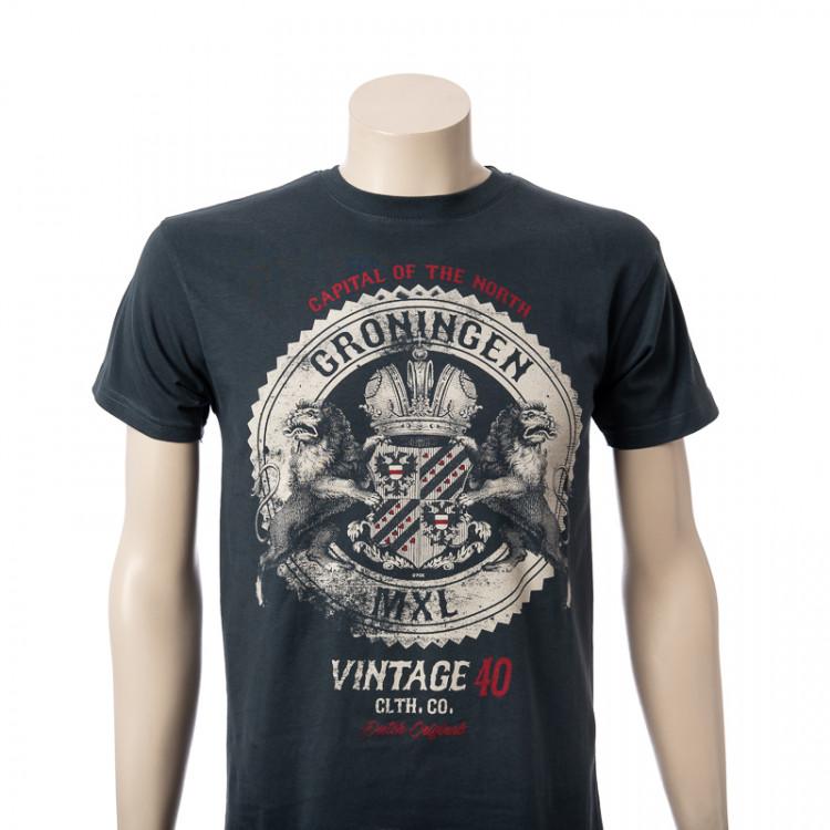 T-shirt Groningen Vintage Rock