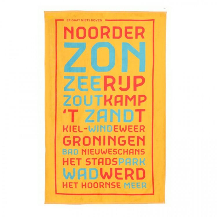 """Badlaken """"Er gaat niets boven Groningen"""""""