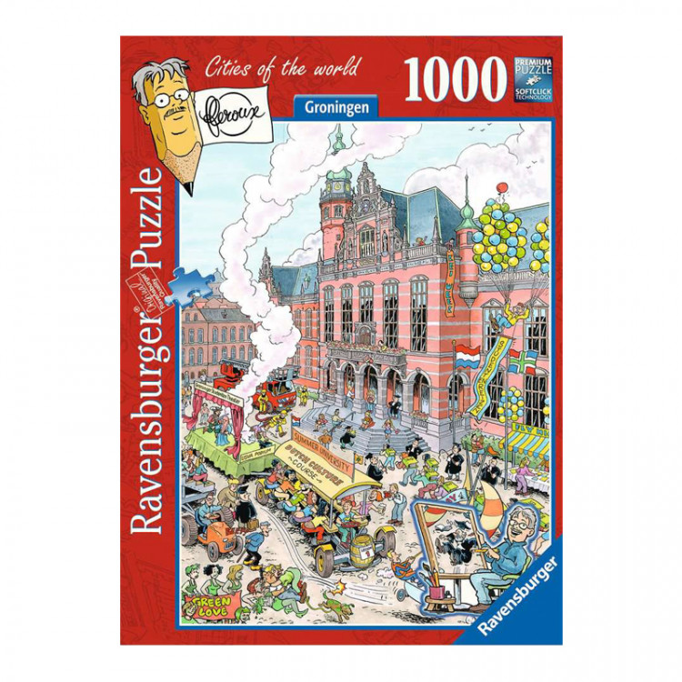 Frans Le Roux Puzzel 'Cities of the World'