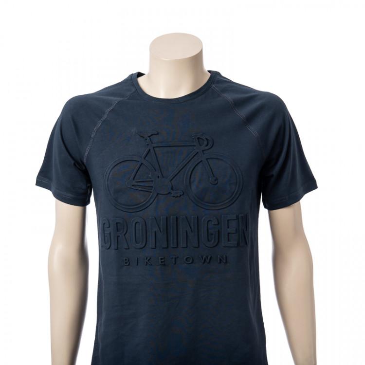 T-shirt Groningen Embossed