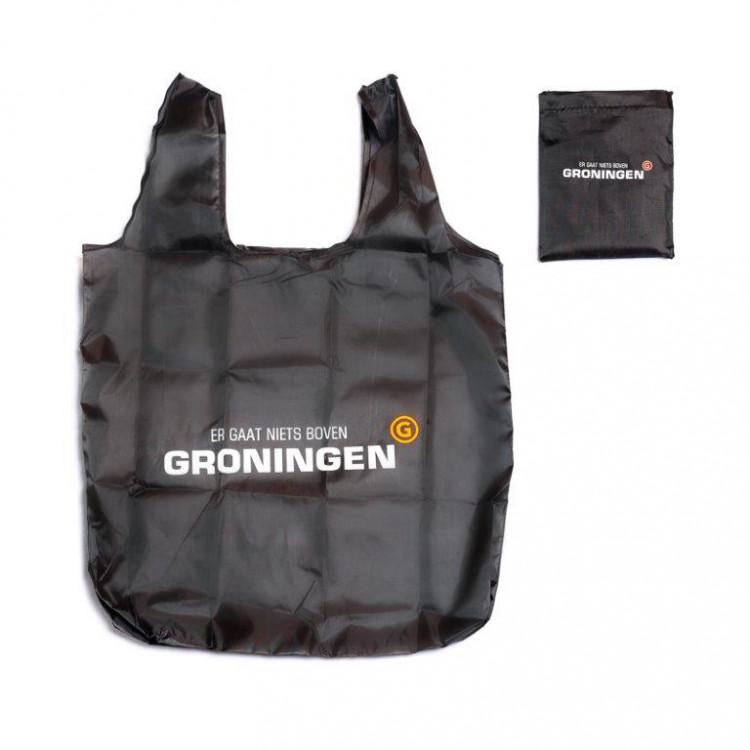"""Herbruikbare tas """"Er gaat niets boven Groningen"""""""