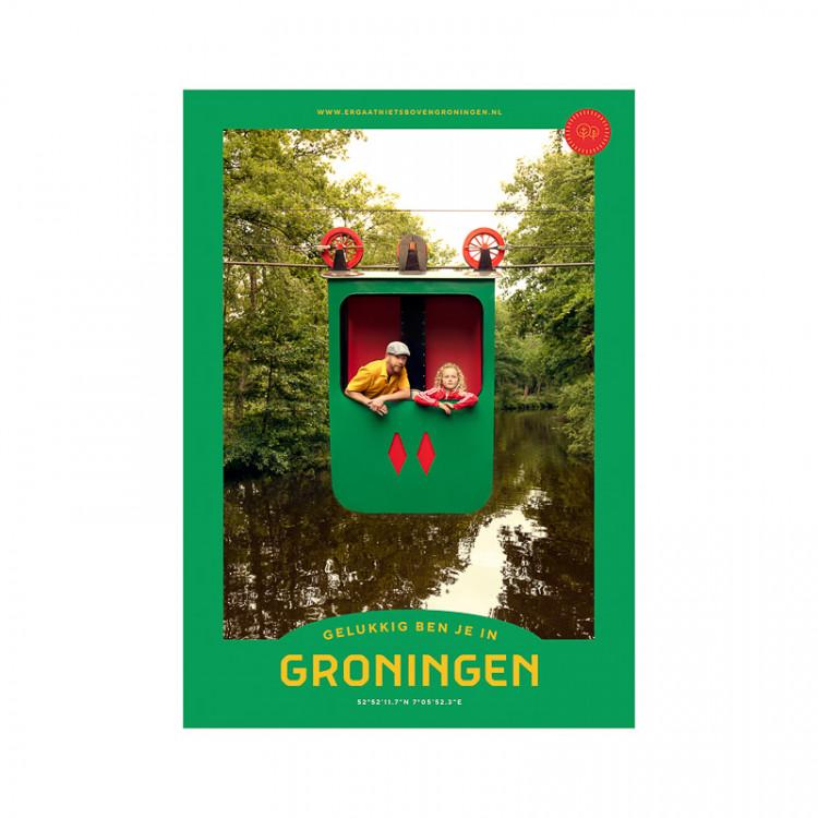 """Poster """"Ter Apel"""" Gelukkig ben je in Groningen"""