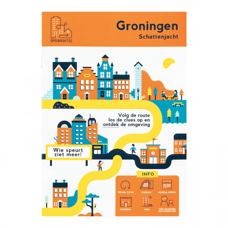 """Speurroute Groningen """"Schattenjacht"""""""