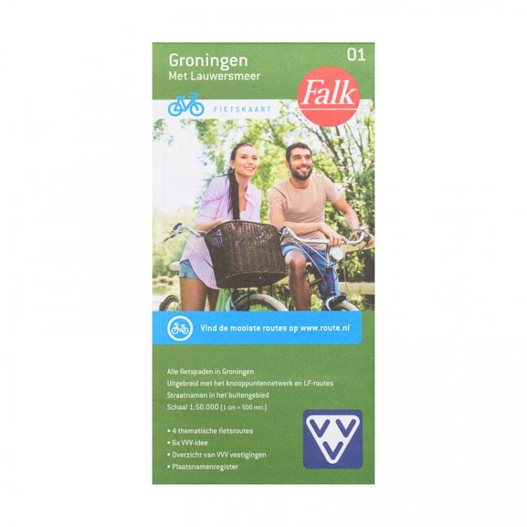 """Falk fietskaart """"Groningen"""" 1"""