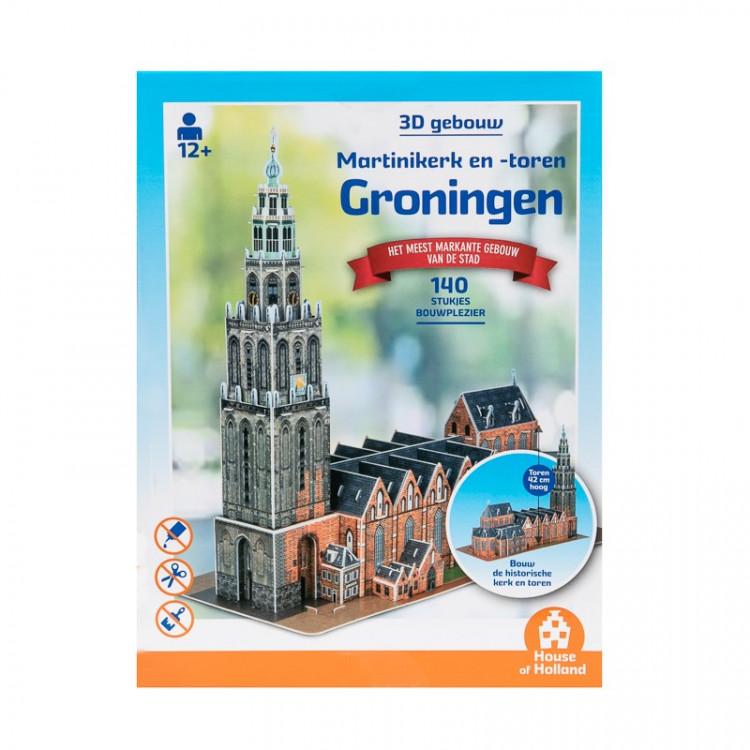 """Puzzel 3d """"Martinikerk en -toren"""""""