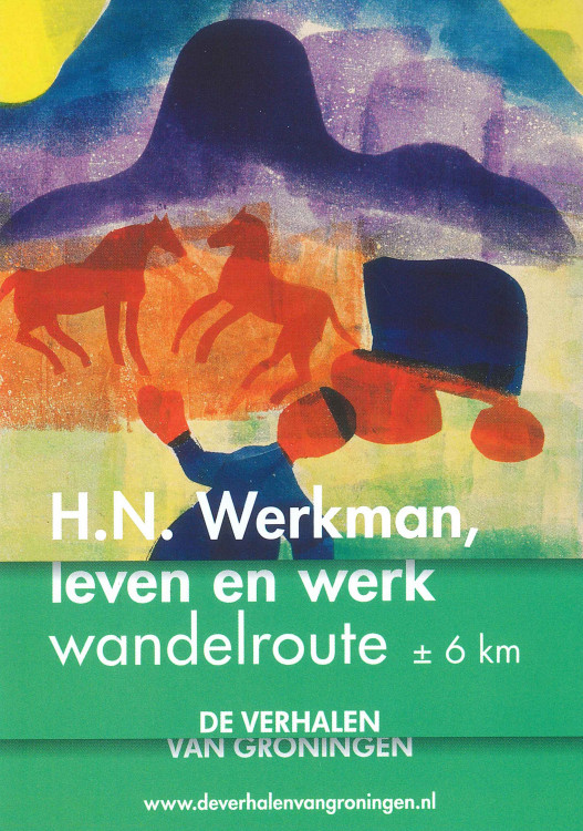 H.N. Werkman, leven en werk wandelroute