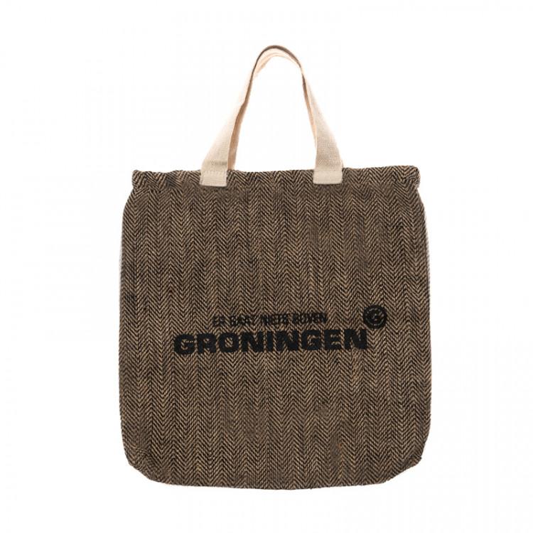 """Juca tas """"Er gaat niets boven Groningen"""""""