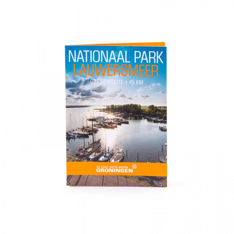 G7 Nationaal Park Lauwersmeer fietsroute
