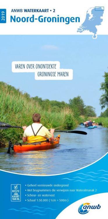 ANWB waterkaart Groningen Noord (2)