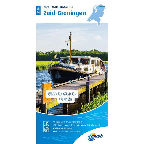 ANWB waterkaart Groningen Zuid ( 3)