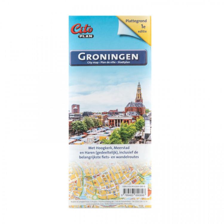 CITO Plan Plattegrond Groningen