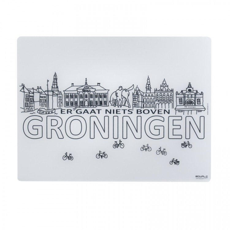 Kinderplacemat Groningen icons